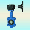 Butterfly Valve With Gear Box -- LD-018-BTG