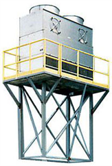Highly efficient counterflow evaporative tower designed to efficiently cool your process water.