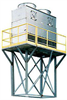 Fiberglass Counterflow Evaporative Cooling Tower - Image