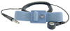 Adjustable Machine Snap Blue Wrist Strap with 6 Coil Cord -- SP7960 - Image