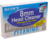 Sony - 8mm Video 8 Hi8 Cleaning Cassette