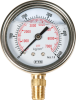 0-7,000 PSI Glycerine Filled Pressure Gauge -- 8000860 -- View Larger Image