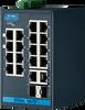 16 + 2G Combo ports Entry-Level Managed Switch Supporting EtherNet/IP -- EKI-5626CI-EI -Image