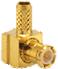 MCX Male Right Angle Cable End Crimp -- CONMCX012