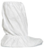 Dupont Safespec IC444S White Large Disposable Cleanroom Boot Cover - 16 1/4 in Height - Tyvek Isoclean Upper and PVC Sole - 13 1/2 in Sole Length - IC444SWHLG02000B -- IC444SWHLG02000B - Image