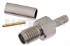SSMA Female Connector Crimp/Solder Attachment For RG188-DS, RG316-DS -- PE44422 -Image