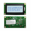 Display Modules - LCD, OLED Character and Numeric -- NHD-0208BZ-FSW-GBW-33V3-ND -Image