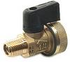 Brass Ball Valve -- s. 55 NPT cap & strap
