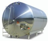 Storage Tanks -- Horizontal Stainless Storage Tanks