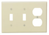 Combination Wallplates -- 80521-I - Image