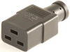 European IEC 60320/C19 Connector -- UC-033 - Image