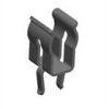 Snap-In PC Fuse Clip -no end stop -- 3621