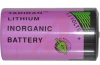 Battery, Lithium, D size, Pressure Contact -- 70102829 - Image