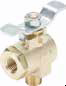90° Ball Valves Series 590 -- 90° Flow, Male-Female Pipe Ends XV590P - Image