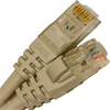 CAT6 550MHZ ETHERNET PATCH CORD GRAY 1 FT -- 26-260-12 -Image