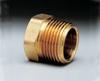 Pipe plug, non-fusible, brass, 1