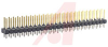 DUAL ROW STRAIGHT PIN BREAKAWAY HEADER;50 CIRCUITS -- 70191003 - Image