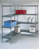 Starter four-shelf solid unit, 36