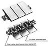 TN Top Plate Conveyor Lambda Chain -- TN1270NP-LAMBDA -Image