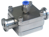 FD Series Fully Drainable Hygienic Back Pressure Regulator -- View Larger Image
