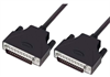 LSZH D-Sub Cable, DB25 Male / DB25 Male, 2.5 ft -- DSA00006-205F - Image