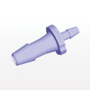 Straight Barb Connector, Purple Tint -- HSR8491 -Image