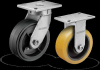 Shockmaster™ Kingpinless Casters -- 400 Series -- View Larger Image