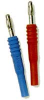 Insulated Banana Jack To Standard Banana Plug -- Model# BU-32101-*