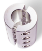 Aluminum Clamp-Type Couplings with Keyways -- 7A008008FK - Image