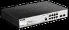 8-Port Metro Ethernet Gigabit PoE Switch with 2 Gigabit SFP ports -- DGS-1210-10P/ME