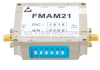 26 dB Gain Block Amplifier Operating From 2 GHz to 6 GHz with 15 dBm P1dB and SMA -- FMAM21 -Image