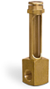 Vented Brass Elbow Liquid Level Gage with Female Inlet -- B-2577 - Image