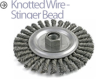 Mini-Grinder Cup and Wheel Brushes -- BSTCM-115