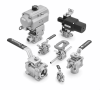 Tantaline® Acid Resistant Ball Valves Compression Ends -- Swagelok Series 40, 60
