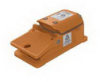 Heavy Duty Industrial Foot Switch Cast Metal, Alert Orange -- 78366723090-1