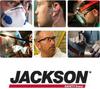 Jackson Safety Lime/Orange Medium/Large Mesh High-Visibility & Reflective Vest - 711382-03238 -- 711382-03238
