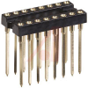 Socket, DIP;16Pins;3-Level;Open;Solderless Wrapost;0.3In.;Gold;SMD;3A -- 70206554