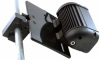 Rail Mount for LED Emitter Bars and Vehicle Mount Halogen and HID Lights (Bar Clamp) -- BC-2-SML