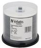 Verbatim DataLifePlus - 50 x DVD-R - 4.7 GB 8x - white - ink -- 94971