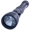 HID Xenon 25 Watt HID Flashlight with Push Button Switch On Head and Lithium Ion Battery -- ASX-25