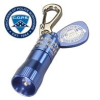 Miniature Keychain Flashlight -- Blue Nano Light - Image