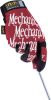 MECHANIX WEAR MG02010 ( LARGE ORIGINAL RED MECHANIX GLOVE ) -Image