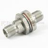 3.5mm Female (Jack) to 3.5mm Female (Jack) Bulkhead Adapter, 1.25 VSWR -- SM3312