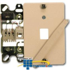 Suttle 4-Conductor Wallplate with Quick Connect &.. -- 630ABC4