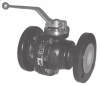 PFA-lined Ball Valve -- Pfeiffer Type BR 20b
