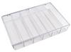 Transparent Plastic Parts Boxes -- 55322 - Image