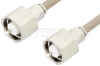 LC Male to LC Male Cable 96 Inch Length Using RG225 Coax , LF Solder -- PE34538LF-96 -Image