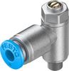 One-way flow control valve -- GRLZ-M5-QS-4-D -Image
