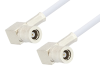 SMB Plug Right Angle to SMB Plug Right Angle Cable 12 Inch Length Using RG188 Coax -- PE3589-12 -- View Larger Image