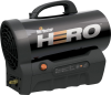 35,000 BTU HERO Cordless Forced Air Propane Heater -- 8387136
